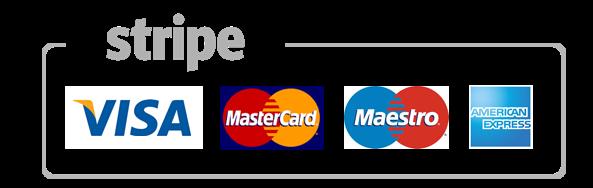 Secure payments via Stripe